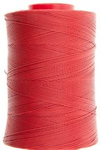 1.2mm Red Ritza 25 Tiger Wax Thread For Hand Sewing. 25 - 125m length (75m) - $17.64