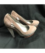 BCBG MAXAZRIA SHOES  High Heel Platform Leather Size: 9/39 - $32.71