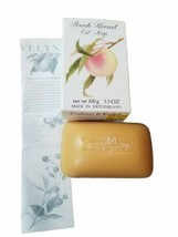 Vintage Crabtree & Evelyn Apricot Kernel Oil Soap New In Box 3.5 oz - $24.70