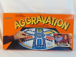 The Original Aggravation 1987 Board Game Coleco 100% Complete Bilingual ... - $31.32