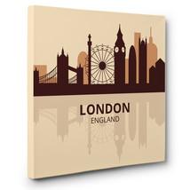 Skyline London CANVAS Wall Art Home Decor - $17.33