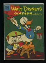 Walt Disney's Comics and Stories #196 G/VG 1957 Dell Carl Barks Comic Book - $11.87