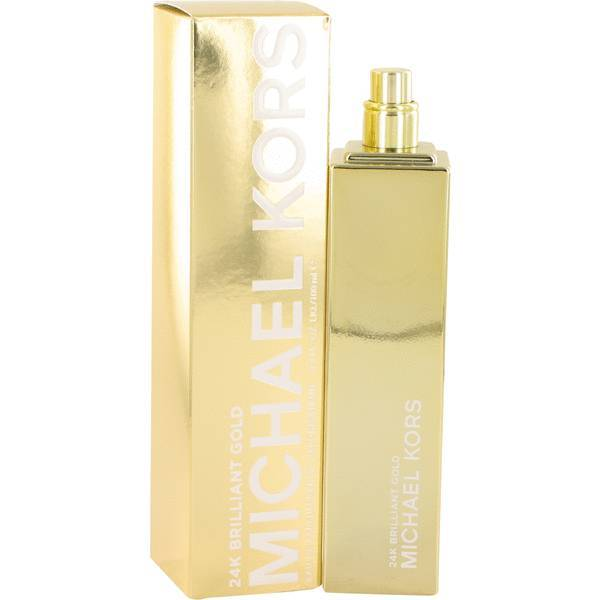 Michael Kors 24K Brilliant Gold Perfume 3.4 Oz Eau De Parfum Spray