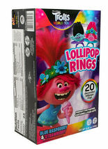 20ct Trolls World Tour Decorated Lollipop Rings Party Favor Candy New in Box image 3