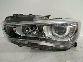 2014 2015 2016 2017 INFINITI Q50 DRIVER LH LED HEADLIGHT W/O ADAPTIVE OE... - $485.00