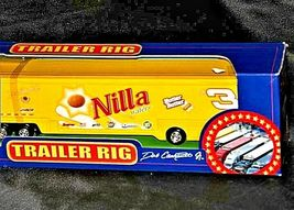 Yellow Dale Earnhardt Jr. #3 Die-Cast Collector Trailer Rig  AA19-NC8015 image 4