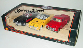 Superior American Oldies Gift Pack - 3 Classic Diecast Automobiles - Car... - $28.98