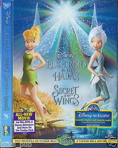 Disneys THE SECRET OF THE WINGS animated movie DVD ● R1 USA NTSC ● NEW F... - $9.45