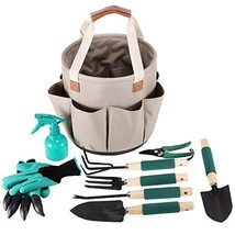 Garden Tools Set | Gardening Gifts | Gardening Tools Set | 9 Piece Garde... - £31.79 GBP
