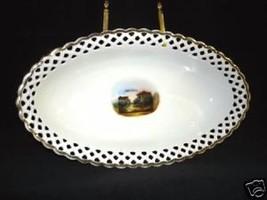 SCHUMANN China Dish Reticulated Rim - $59.95