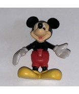 """Disney Classic Mickey Mouse 1.5"""" Mini Figure Bends At Waist  - $9.85"""