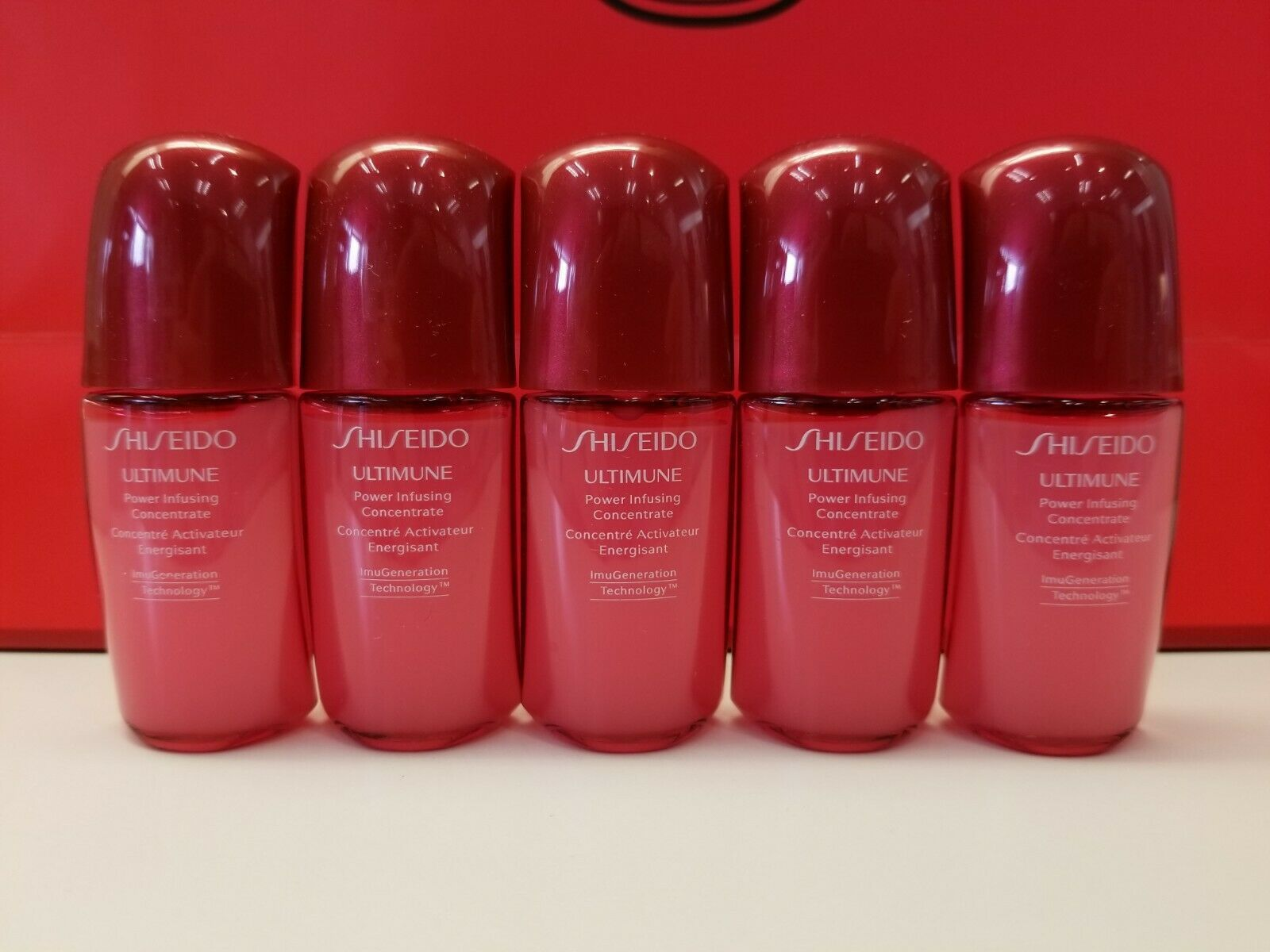 Primary image for Shiseido Ultimune Serum 10ml x 5 pieces