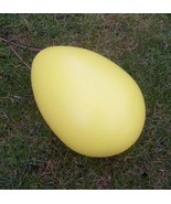 GIANT EASTER EGG - THE BIG LAWN EGG -  BRAND NEW -  YELLOW - $99.00