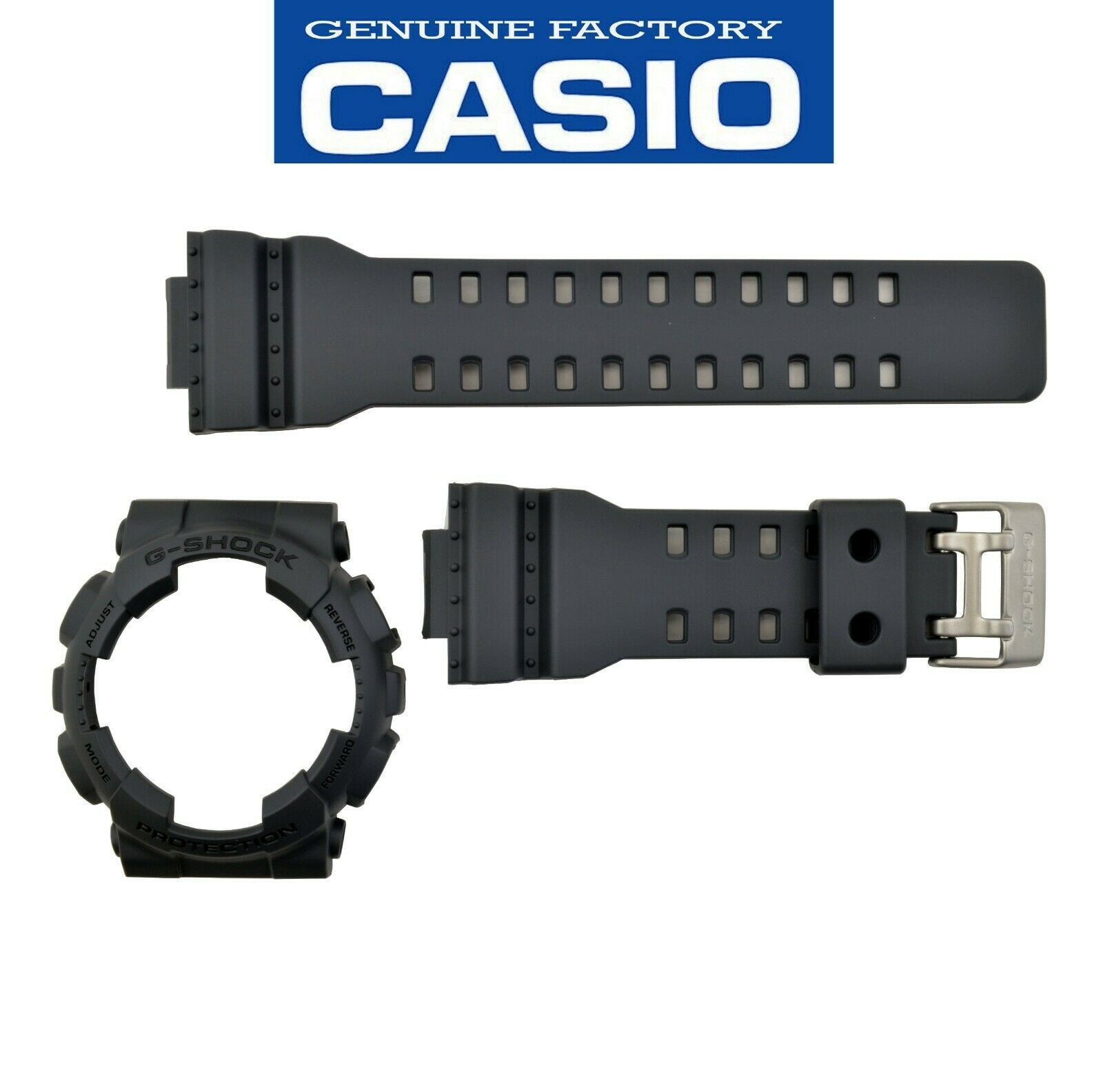 Primary image for Genuine Casio G-Shock Original GA100C-8A GA110TS-1A4 Watch band & Bezel Set