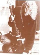 Nirvana Kurt Cobain WB Vintage 11X14 Sepia Music Memorabilia Photo - $9.95