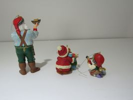 Lot of 3 1999 Hallmark Ornaments Arctic Artist, Mary's Bears, Toymakers Gift NIB image 4