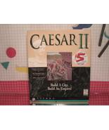 Caesar II Big Box (PC, 1995) Strategy Game - $12.60