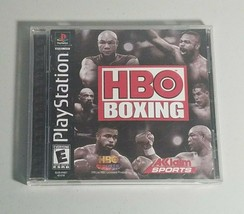 HBO Boxing PS1 Video Game 35 boxers 2000 Vintage - £5.99 GBP