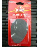 2 KIWI NON SKID SHOE PADS NO SLIP SURE STEP STICK ON BOTTOMS SOLE PROTEC... - $6.43