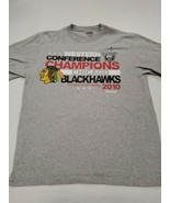 Chicago Blackhawks Western Conference Champions T-Shirt Large Excellent ... - $9.89