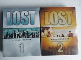 Lost TV Series DVD Season 1 and 2 Complete - $12.86