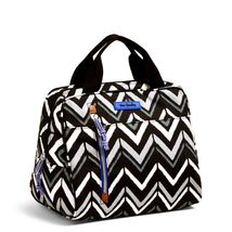 Vera Bradley Water-Repellent Lighten Up Lunch Cooler Bag, Lotus Chevron