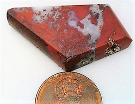 Red Agate Cabochon 17 - $7.90