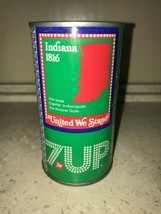 7 UP UNCLE SAM CAN 1976, INDIANA - COMPLETE YOUR COLLECTION!! - $7.99