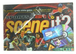 SCENE IT? SPORTS by ESPN DVD TRIVIA GAME NEW & SEALED  - $28.66