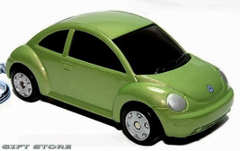 Rare Key Chain Green Vw New Beetle Volkswagen Bug Volkswagon Limited Edition - $35.98