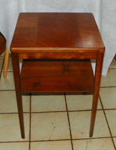 Walnut Inlaid End Tabel / Side Table (RP) - $299.00