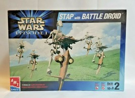 AMT ERTL Star Wars Episode I 1/6 Plastic Model Kit - STAP with Battle Droid NEW - $44.55