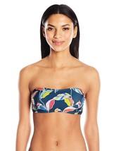 Splendid Women's Tropical Traveler Double Dip Bandeau Top Only (Size Sma... - $25.23