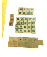 2.30 Lbs. Intel Pentium 4 P4 AMD Mix Lot CPU w pins for Gold Scrap Recovery - $38.61