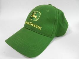 John Deere Owners Addition Cap Hat Strap Back Adjustable Green - $14.80