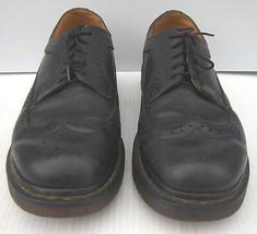 DR. MARTENS - Adult #11845 Black Leather Wingtip Oxfords -- Size US - M/... - $44.99