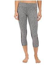 Hurley Women's Dri-Fit Paneled Leggings Heather Grey Pants XS (US 0-2) X 22