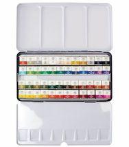 Watercolor Paint Mungyo Professional Pans Set 48 Color MWPH-48C image 3
