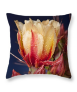 Prickly Pear Flower, Throw Pillow, fine art, ho... - $41.99 - $69.99