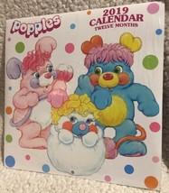 Popples 2019 Twelve Month Wall Calendar Retro Vintage Art NEW - $9.99