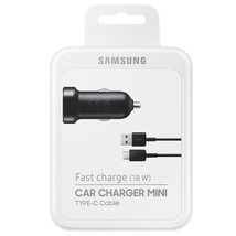 Original Samsung Fast Charge(18W) CAR CHARGER USB TYPE C for Galaxy S8 /... - €13,64 EUR