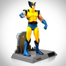 Marvel Select Limited Edition Wolverine Figure With Deluxe Weapon X Base... - $39.99