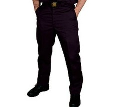 Dickies Wrinkle Free Twill Black Work Pants in Waist Sizes 28 to 50 Inse... - $29.99