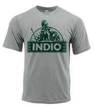 Indio Beer Dri Fit graphic T-shirt moisture wicking sun shirt polyester SPF tee image 2