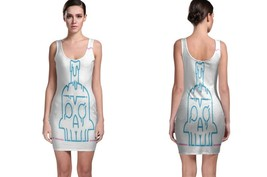 New Happy Skull Day Bodycon Dress - $30.99+