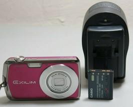 Casio EXILIM CARD EX-S5 10.1MP Thin Digital Camera - Pink Purple *Fine/t... - $21.77
