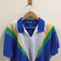 VTG 90's Gape God Tops T-Shirt SZ L ColorBlock  Rare Made In USA image 2