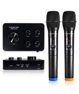 Sound Town 16 Channels Wireless Karaoke Microphone and Mixer System with... - $113.75