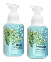 Bath and Body Works 2 Pack Turquoise Waters Gentle Foaming Hand Soap 8.7... - $34.88
