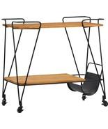 Bar Cart DOVETAIL NICHOLS New DT-4276 FREE SHIPPIN - $1,039.00